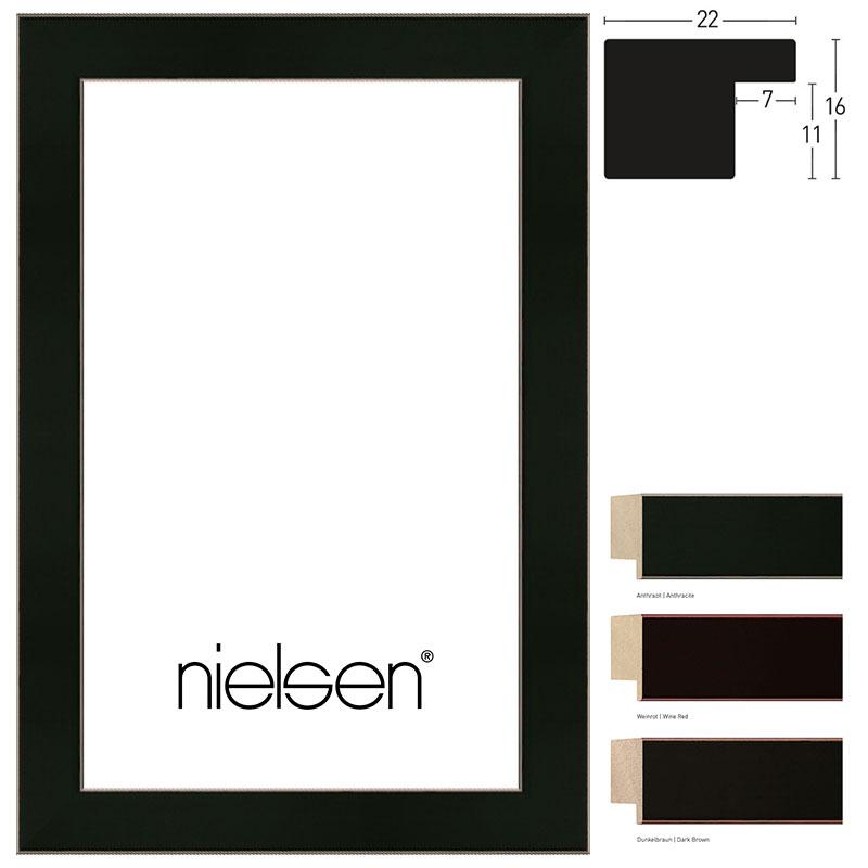 Nielsen Cadre en bois coupe sur mesure, Accademia 22 # Cadre En Bois Sur Mesure