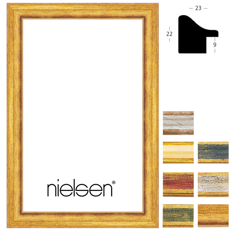 nielsen cadre en bois coupe sur mesure classica 23. Black Bedroom Furniture Sets. Home Design Ideas