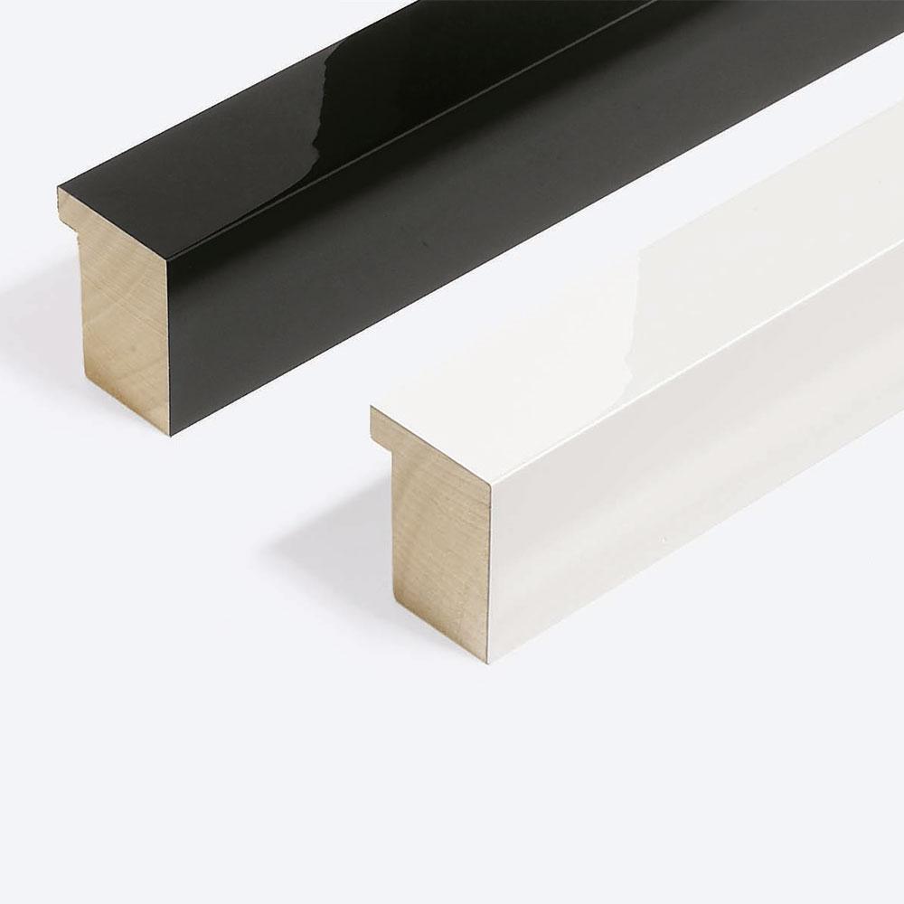 Cadre en bois coupe sur mesure, Matrix B&W 39