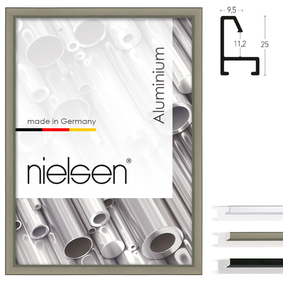 Cadre en aluminium coupe sur mesure, profil 23