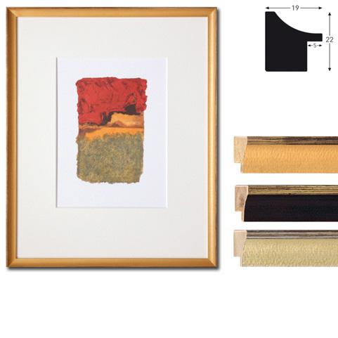 Cadre en bois coupe sur mesure, Vazgen Minis 2-19x22