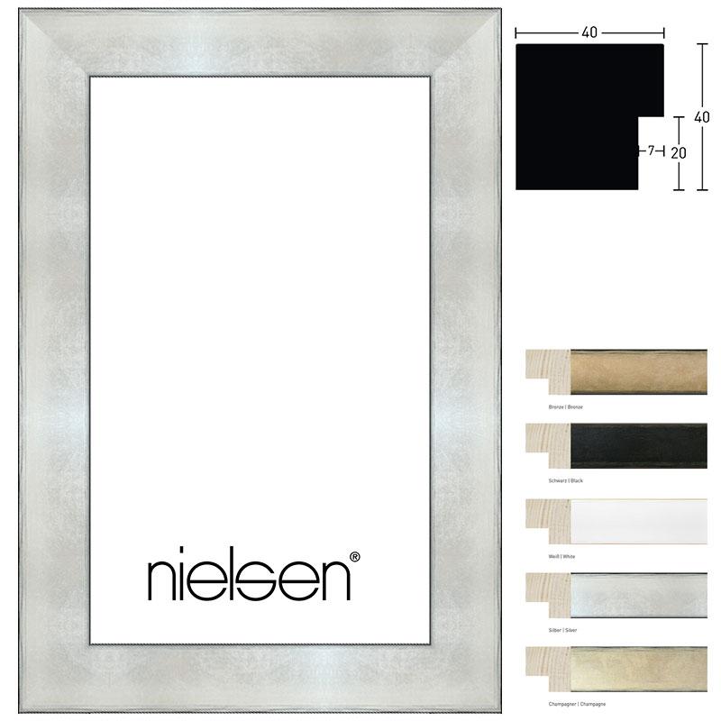 Nielsen Cadre en bois coupe sur mesure, Sun Cube 40 # Cadre Bois Sur Mesure