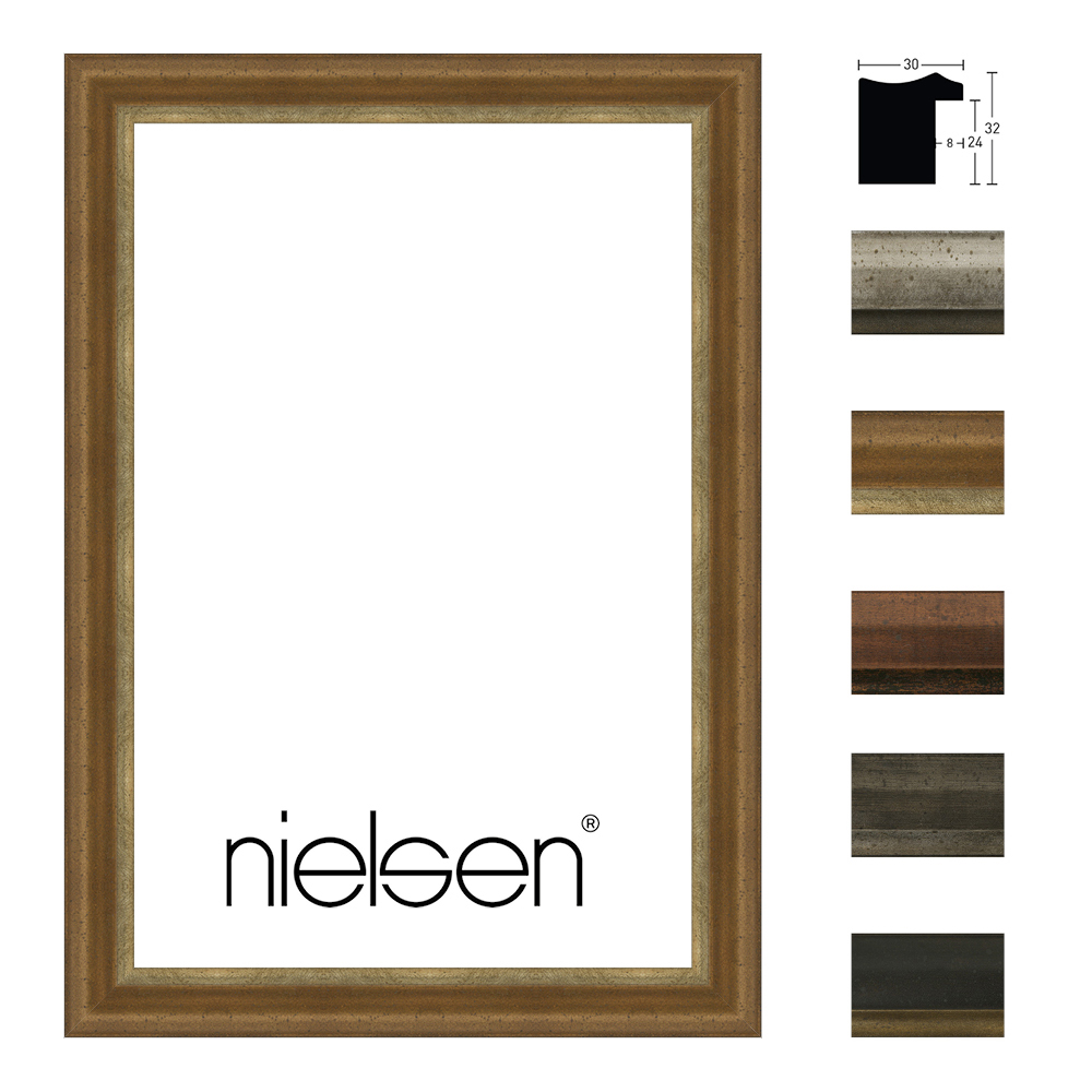 nielsen cadre en bois ferro 30. Black Bedroom Furniture Sets. Home Design Ideas