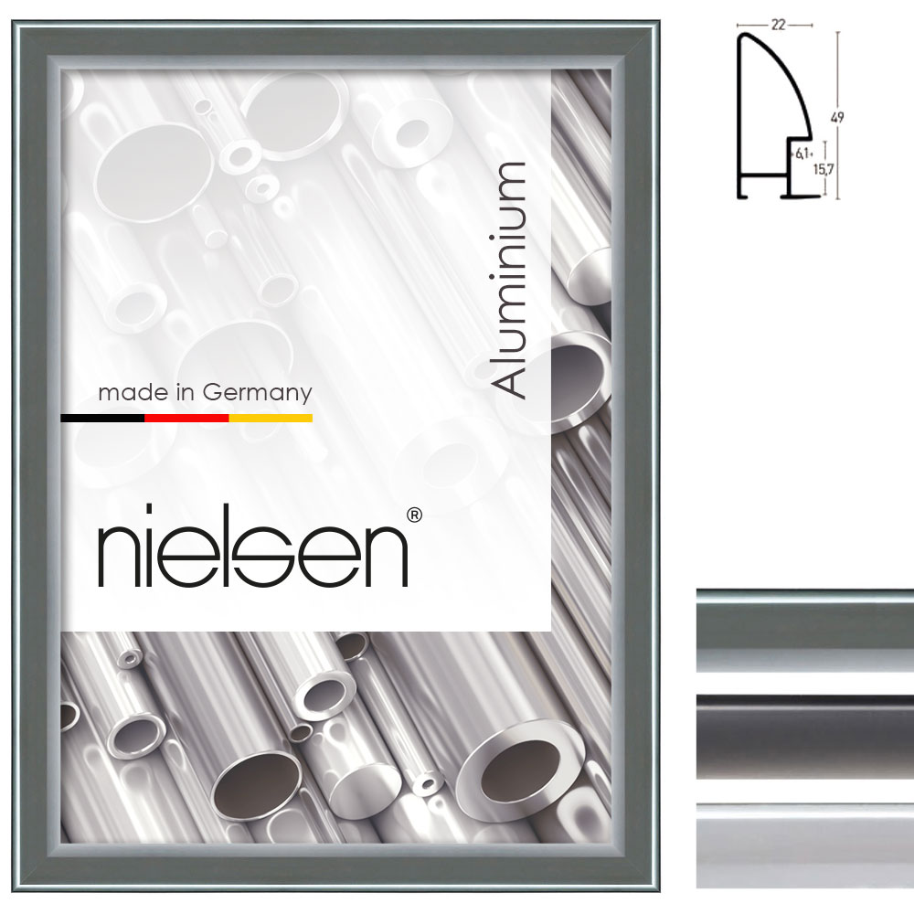 Cadre en aluminium coupe sur mesure, profil 281
