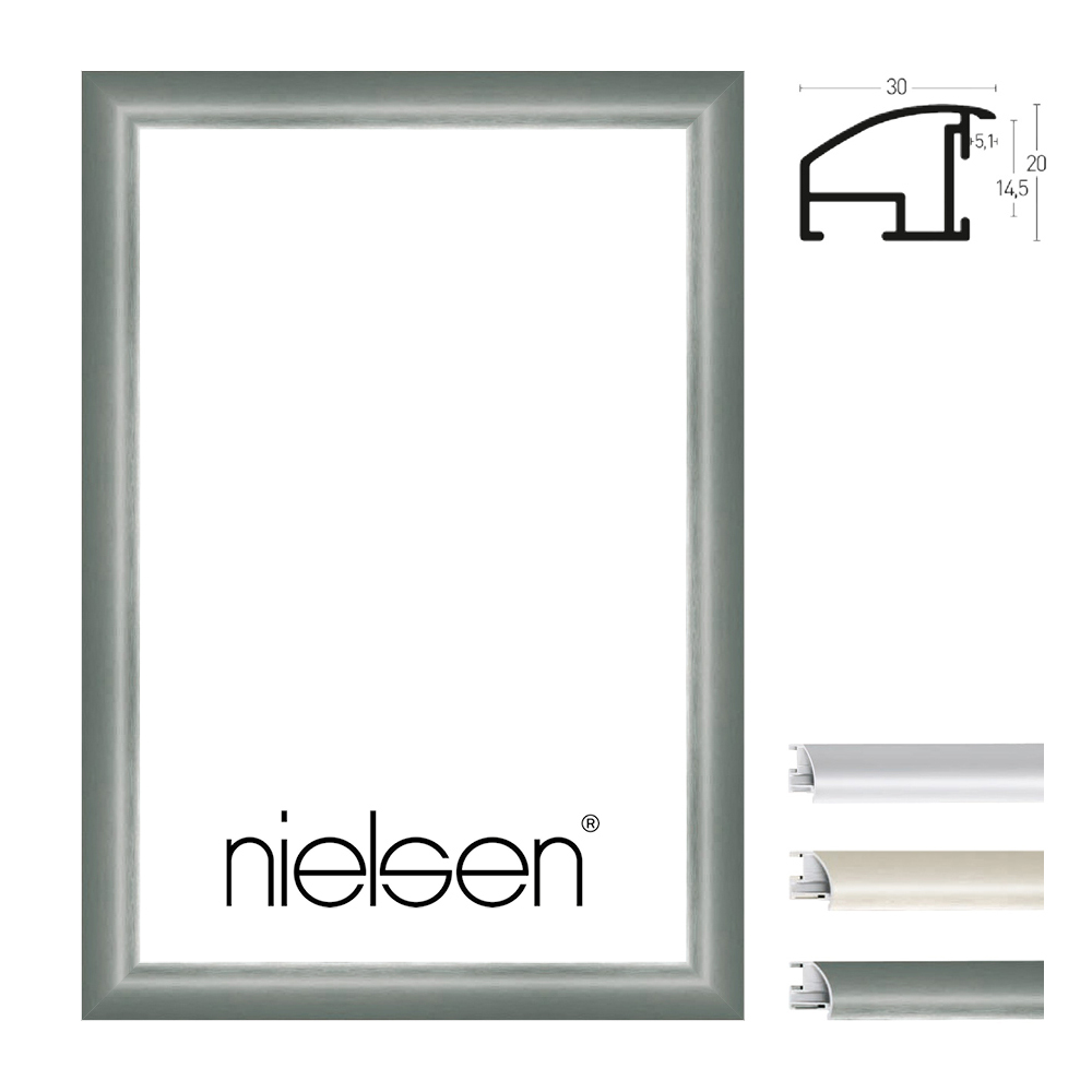 nielsen cadre en aluminium coupe sur mesure profil 29. Black Bedroom Furniture Sets. Home Design Ideas