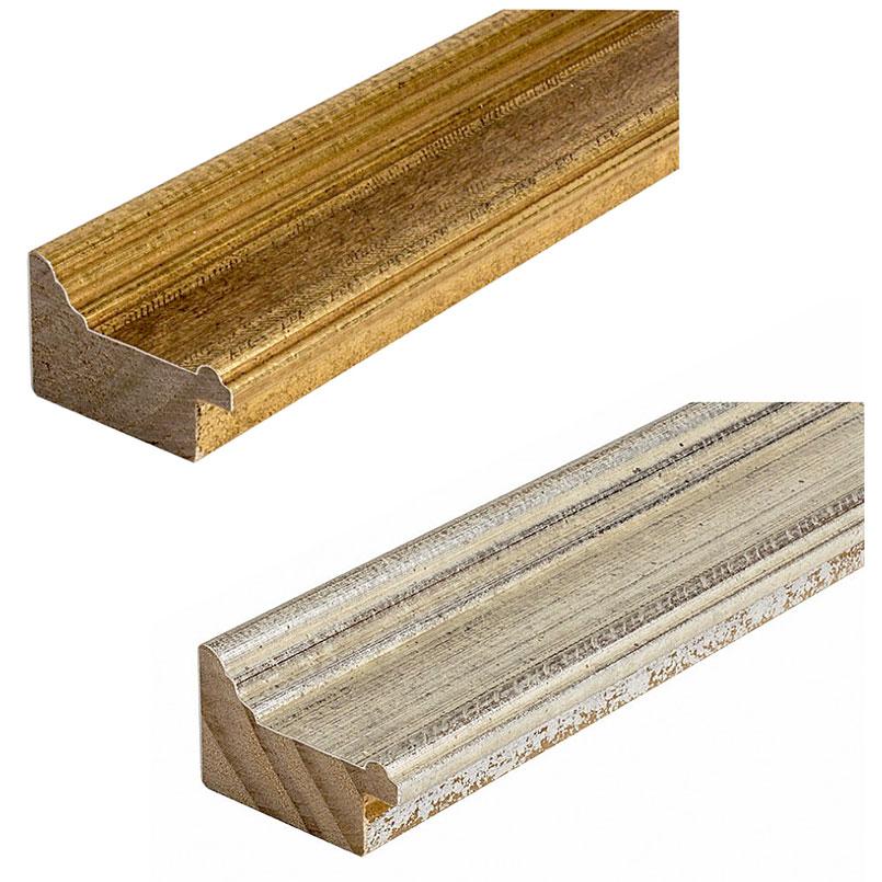 Cadre en bois coupe sur mesure, Vienna 50