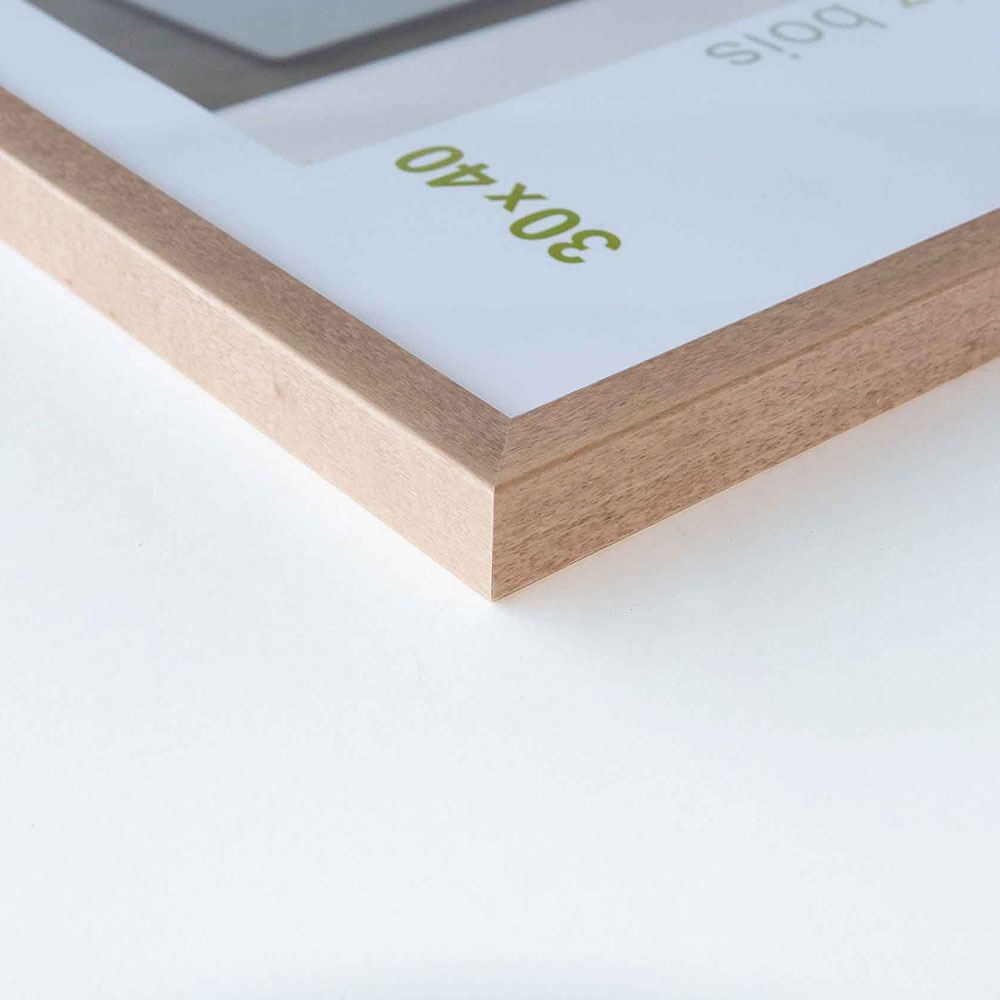 nielsen cadre en bois essential 50x70 cm bouleau verre normal. Black Bedroom Furniture Sets. Home Design Ideas