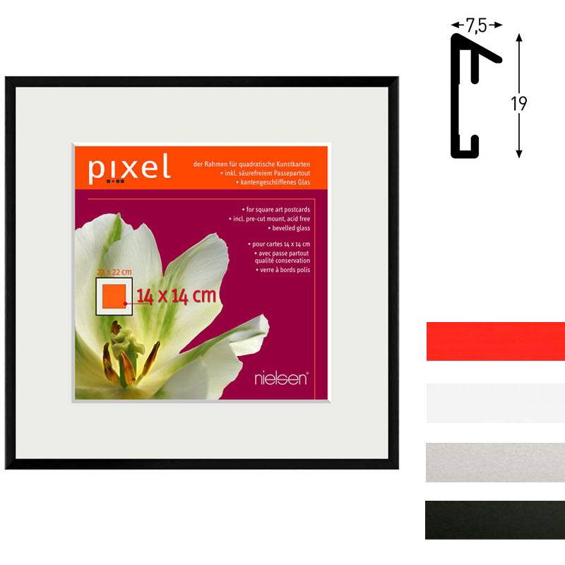 nielsen cadre en aluminium pixel avec passe partout. Black Bedroom Furniture Sets. Home Design Ideas