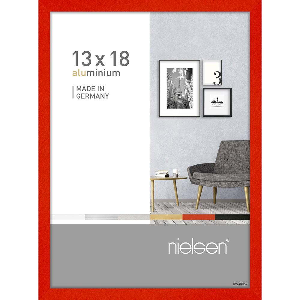 Au cadre en aluminium Pixel 13x18 cm tornado rouge