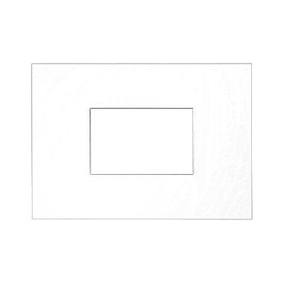 Passe-partout galeries 2,5 mm, taille extérieure 21x29,7 cm