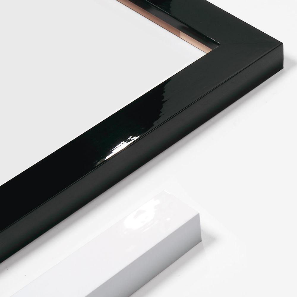 Cadre en bois coupe sur mesure, Matrix B&W 40