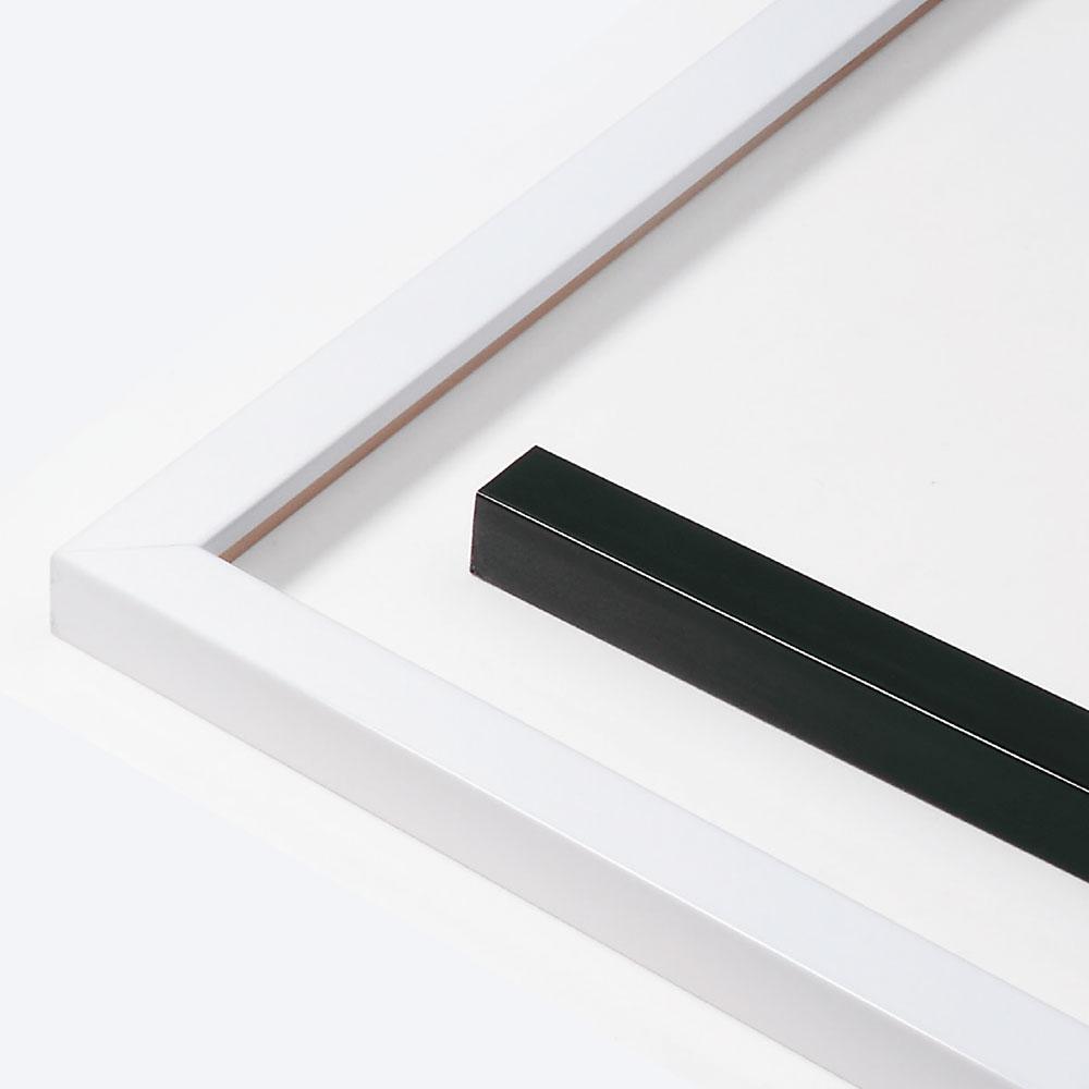 Cadre en bois Matrix B&W 20x20