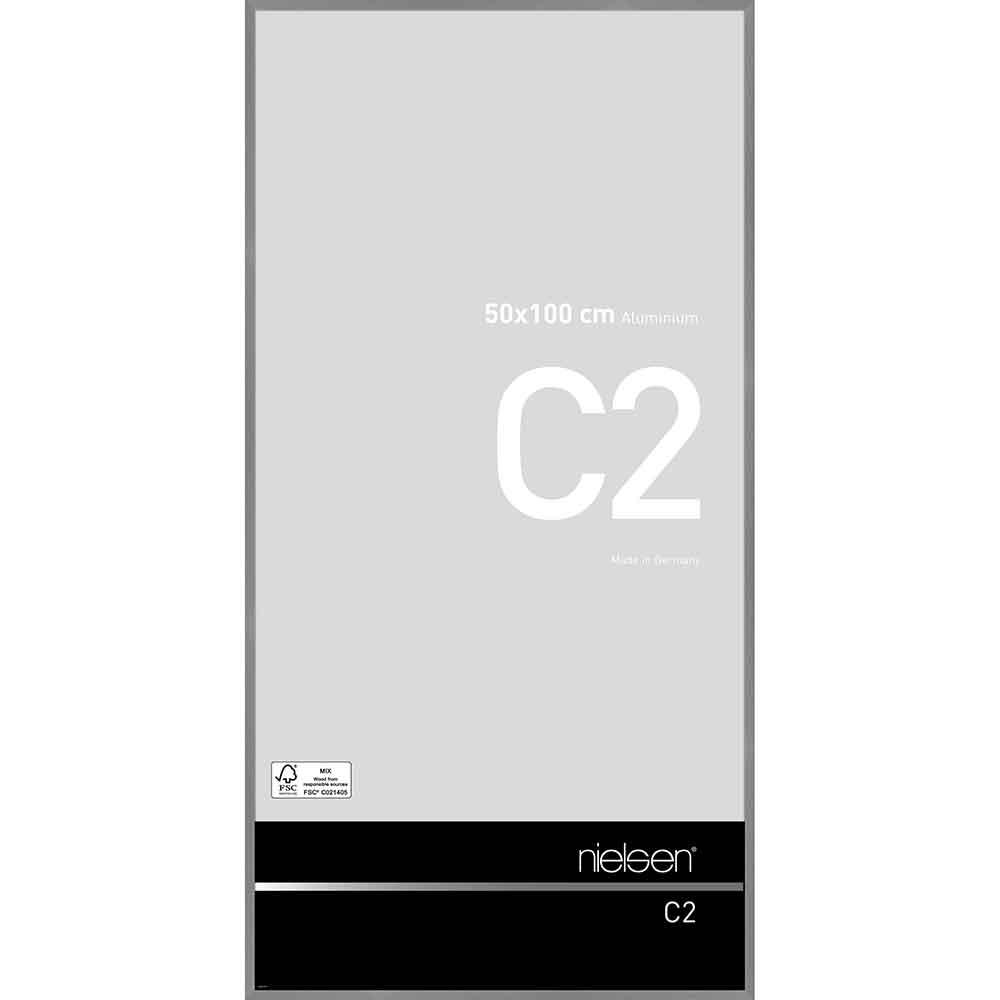 Au cadre en aluminium c2 Structure gris mat 60x80 cm