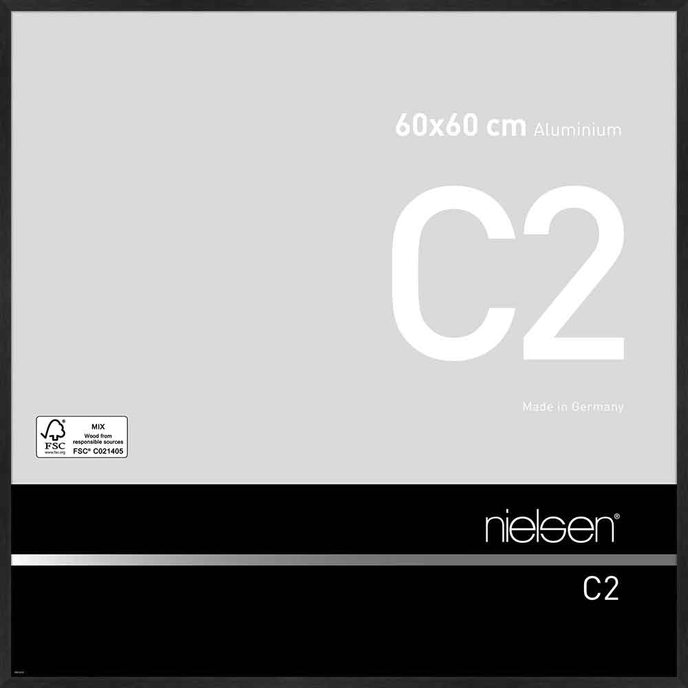 Cadre Métal Argent Mat 9x13cm
