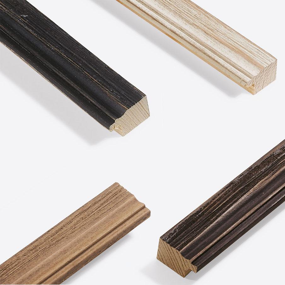 Cadre en bois coupe sur mesure, Chalet 31