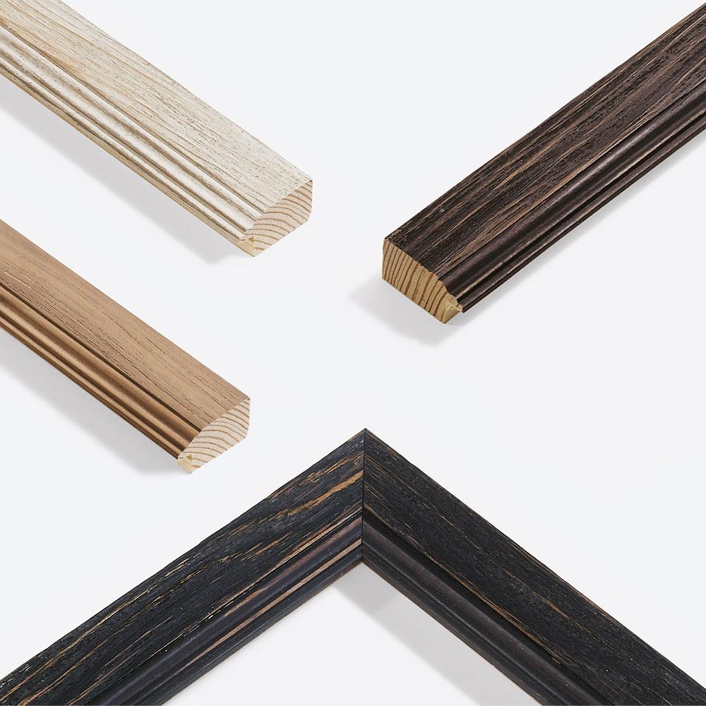 Cadre en bois coupe sur mesure, Chalet 41