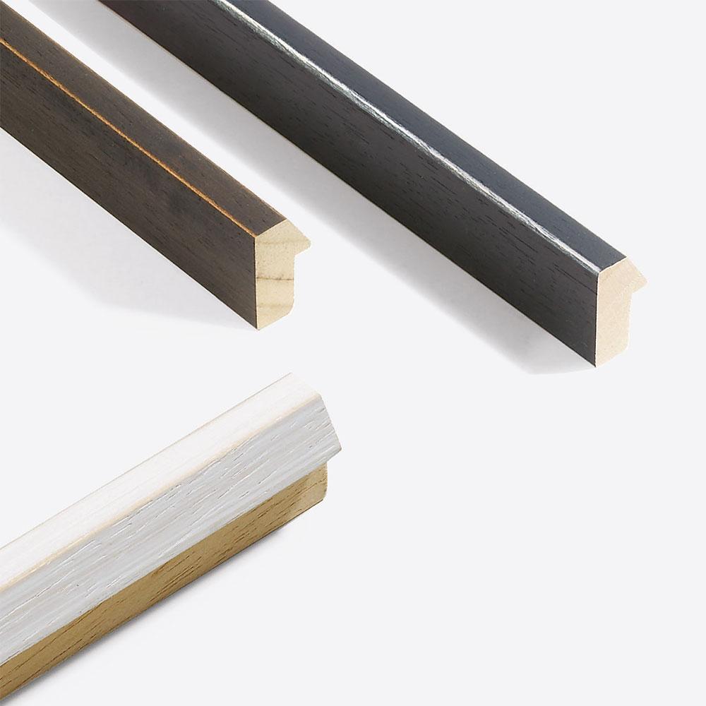 Nielsen Cadre en bois coupe sur mesure, Modern Shabby 19 # Cadre En Bois Sur Mesure