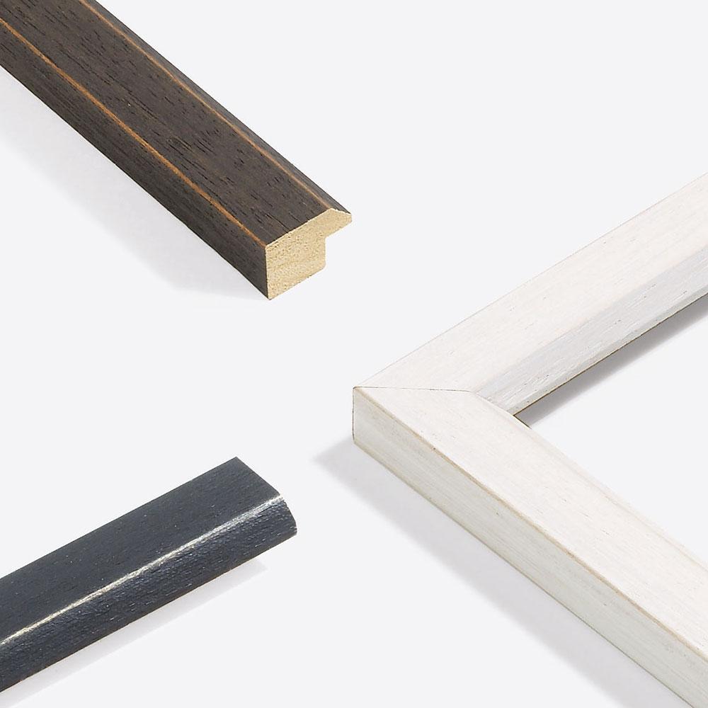 Cadre en bois coupe sur mesure, Modern Shabby 28