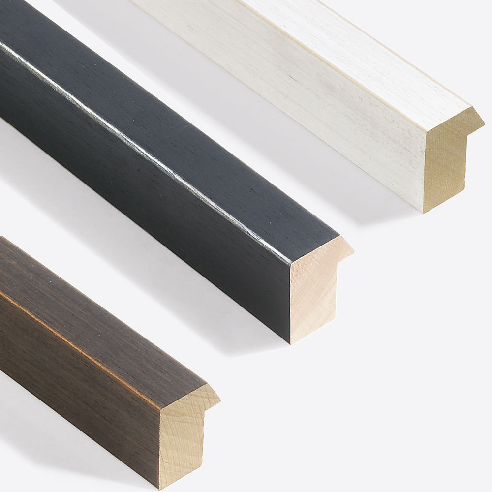 Nielsen Cadre en bois coupe sur mesure, Modern Shabby 35 # Cadre En Bois Sur Mesure