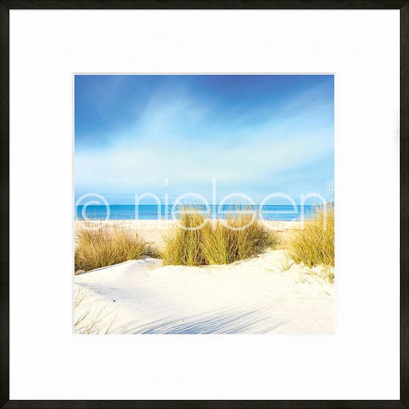 """Image encadrée """"Dune"""" avec cadre en aluminium C2"""