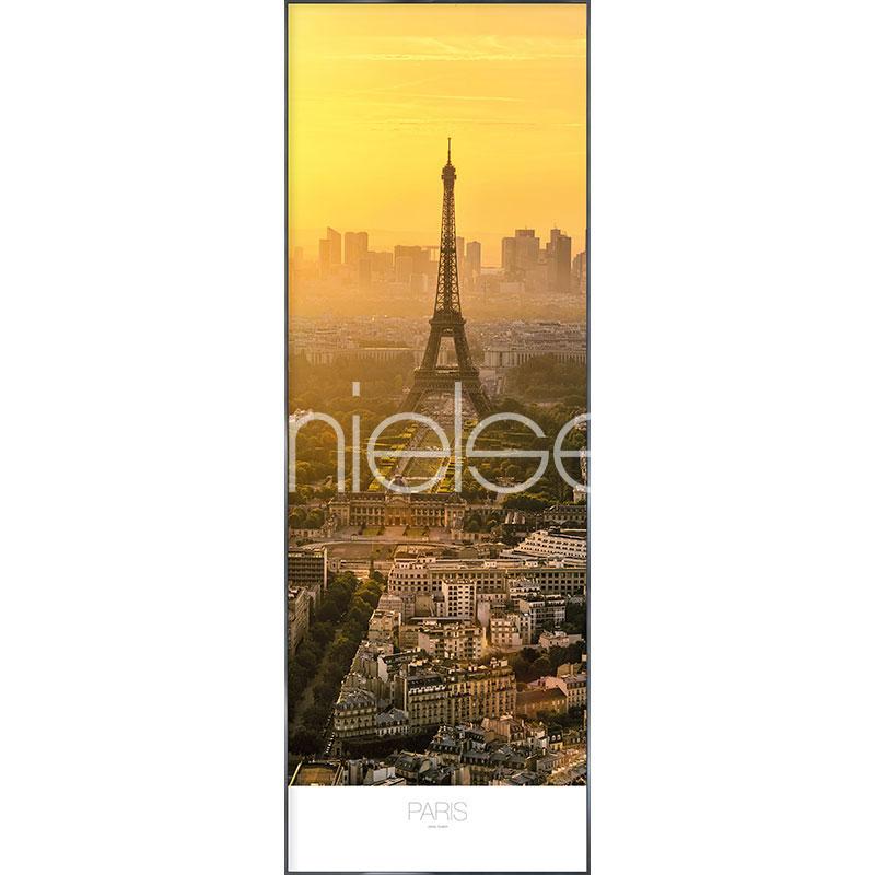 """Image encadrée """"Paris at Daytime"""" avec cadre en aluminium Alpha"""