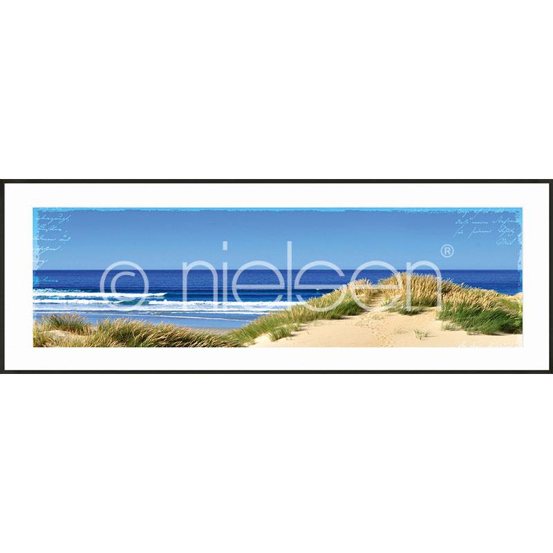 "Image encadrée ""Dune Ocean"" avec cadre en aluminium C2"