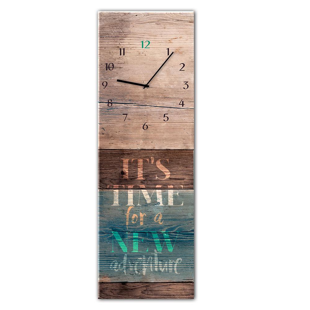 Horloge en verre ADVENTURE