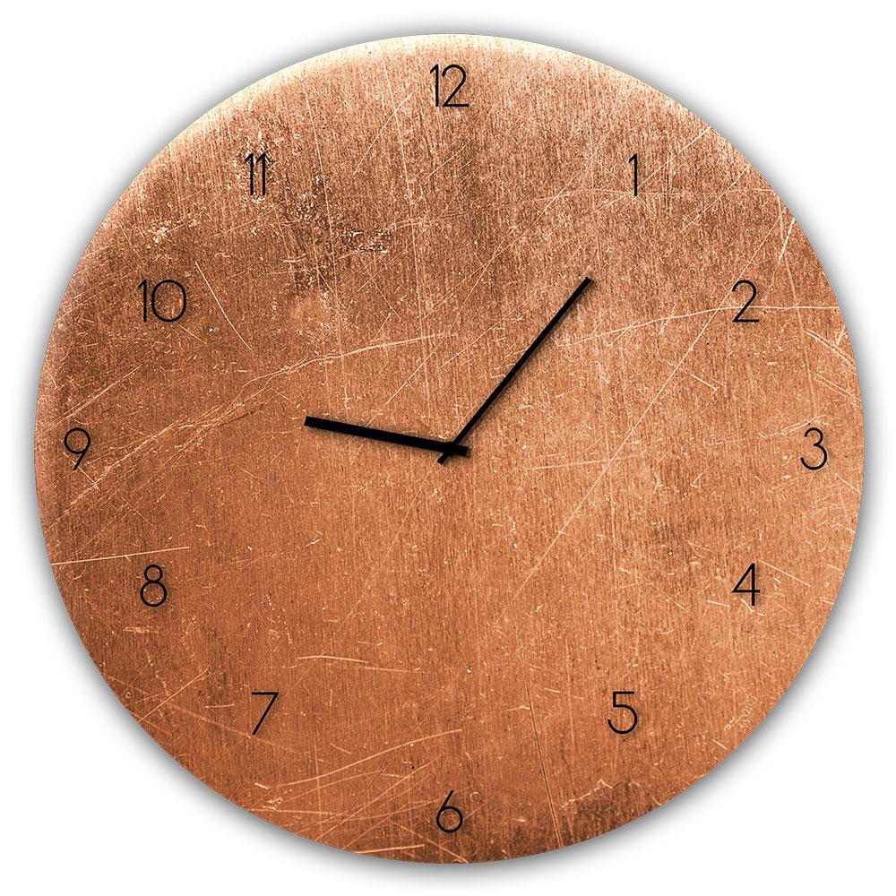 Horloge en verre COPPER
