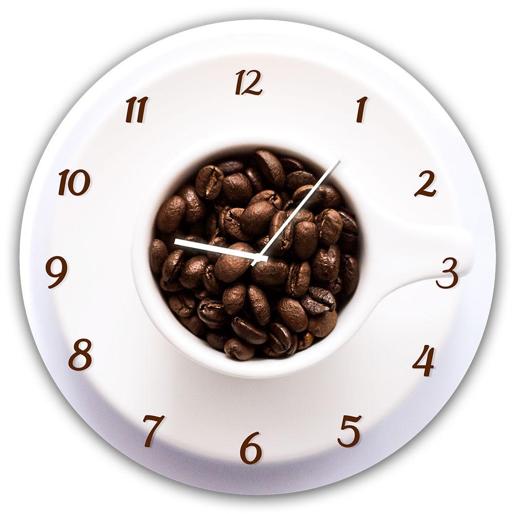 Horloge en verre CUP