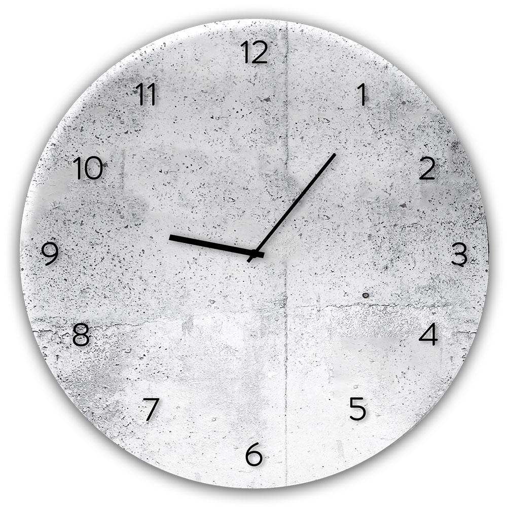 Horloge en verre WALL