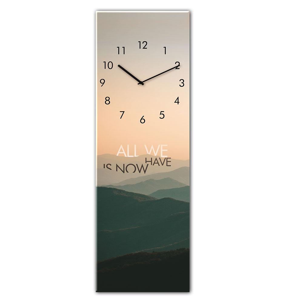Horloge en verre MOUNTAINS