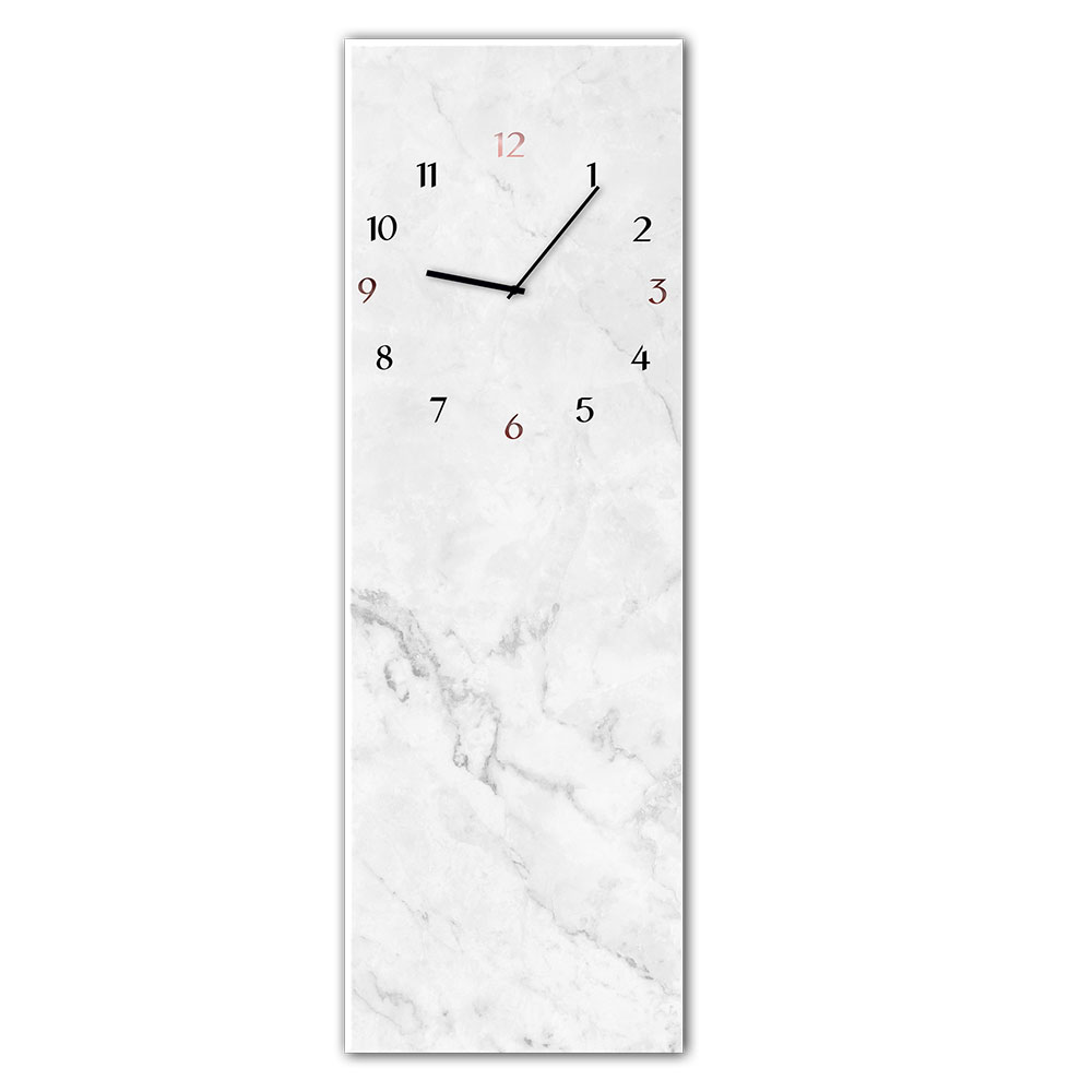 Horloge en verre MARBLE