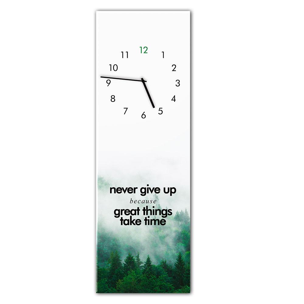 Horloge en verre GREATTHING