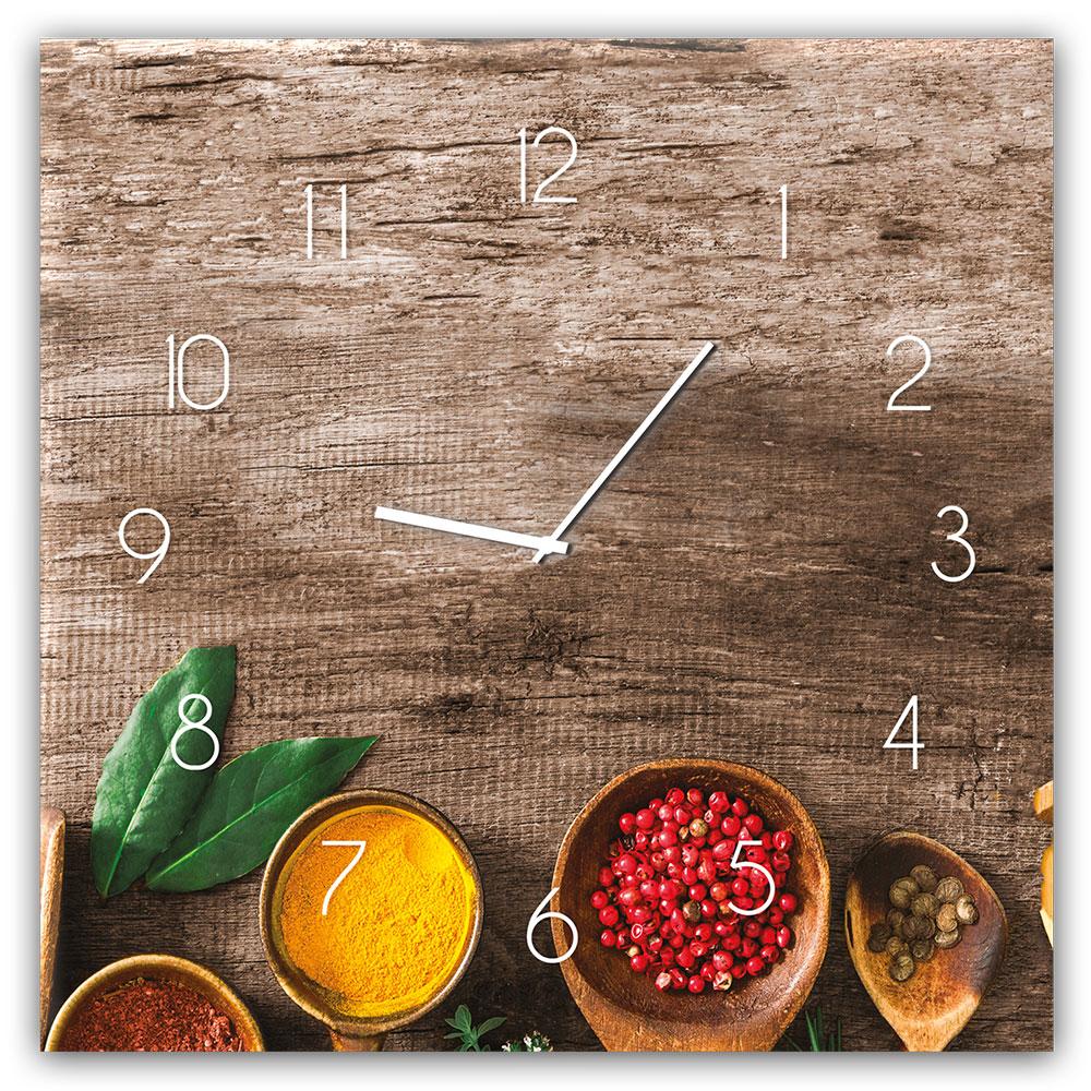 Horloge en verre PEPPER