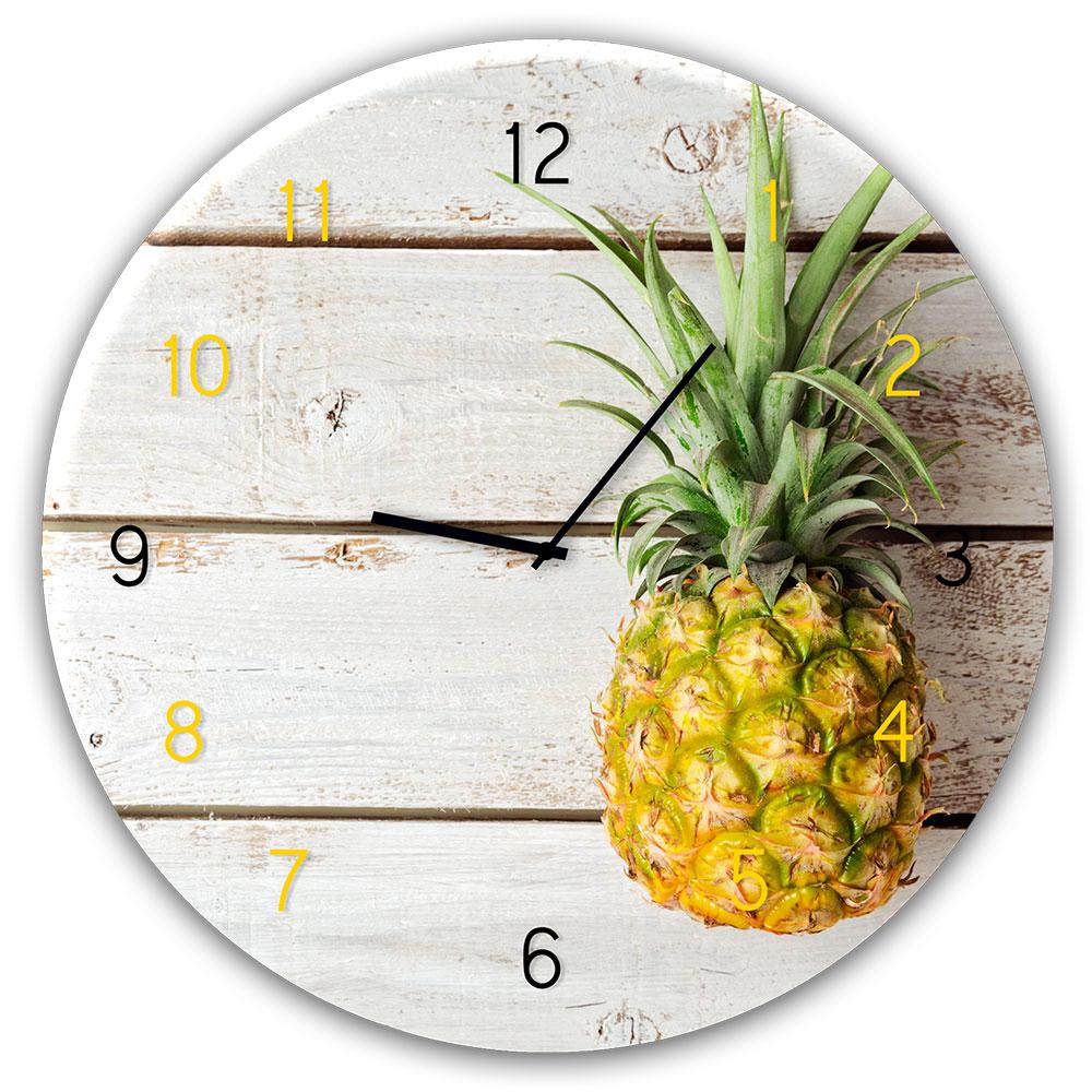 Horloge en verre PINEAPPLE