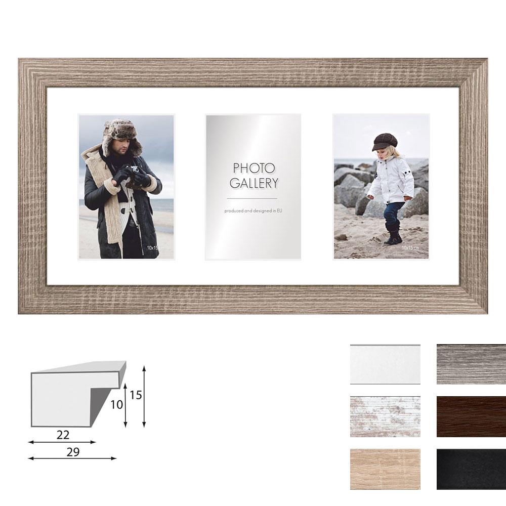 Cadre de galerie NARVIK pour 3 photos