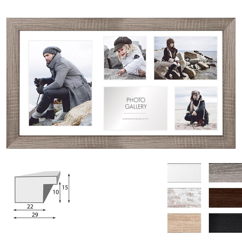 Cadre de galerie NARVIK pour 5 photos