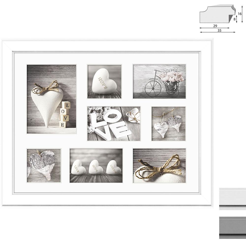 Cadre de galerie MALMO pour 8 photos