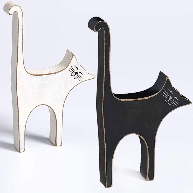 Cats&Dogs Statuette poru décoration - Chatte