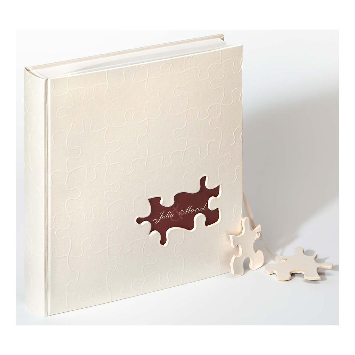 """Album pour marriage """"Puzzle"""" individualisé"""