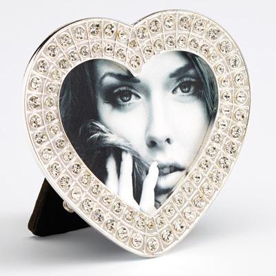 Cadre pour portrait Louise, forme de coeur