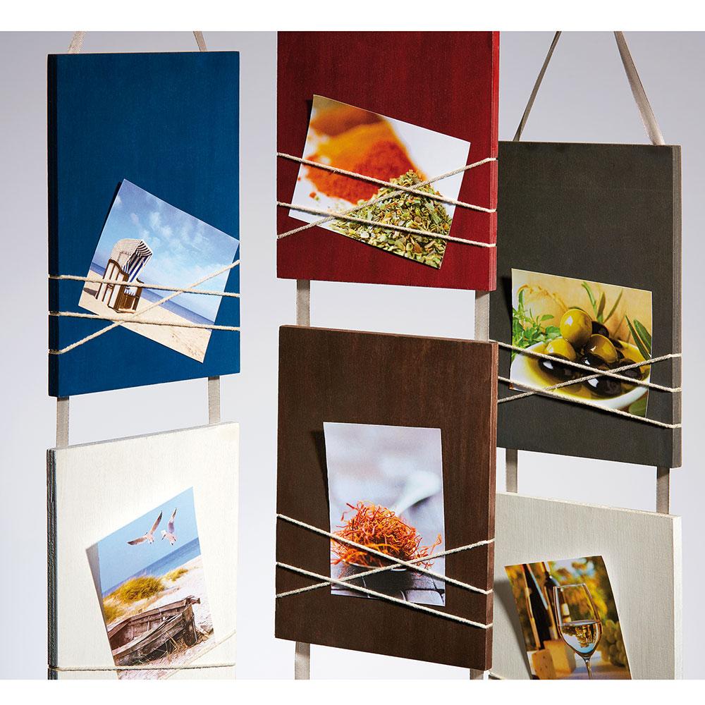 """walther cadre galerie """"la casa"""" pour 3 photos 8x11 cm  bleu"""