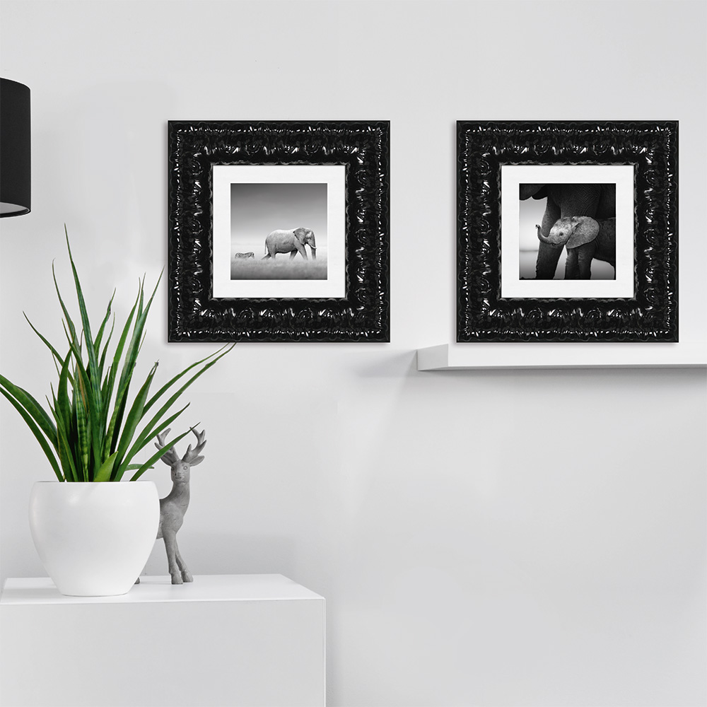 Nielsen cadre en bois imperial 103 for Miroir 70x100