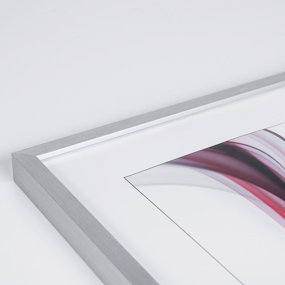 artvera bilderrahmen baguette su doise gotland en aluminium sur mesure argentin mat verre. Black Bedroom Furniture Sets. Home Design Ideas