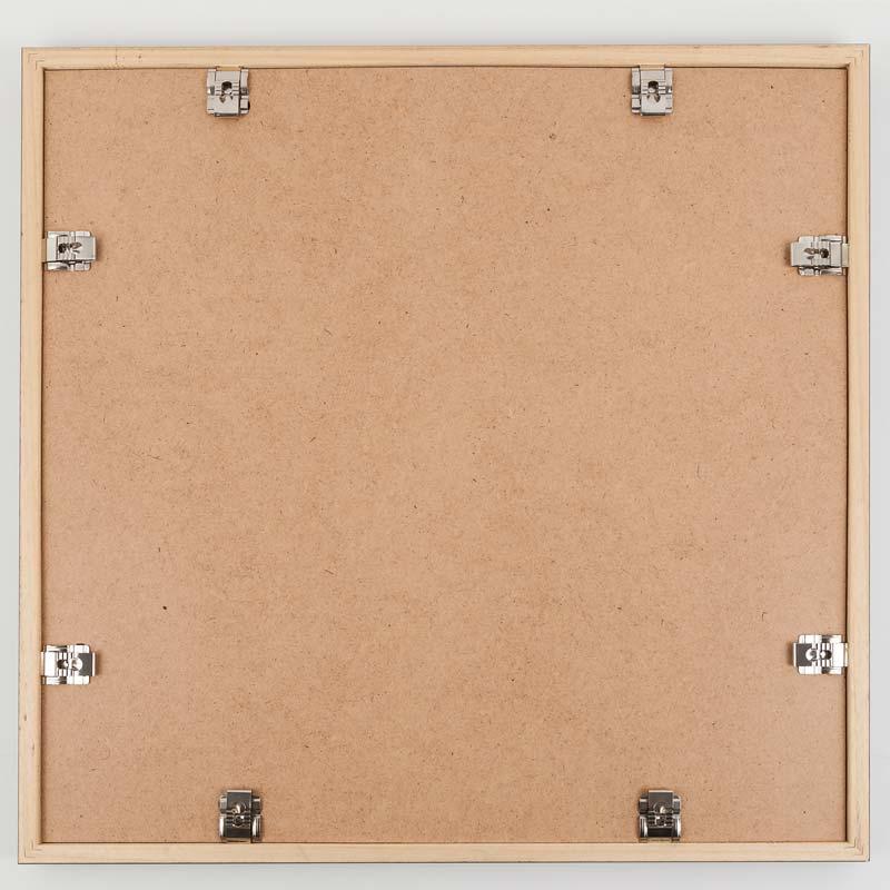 Mira cadre pour m dailles 50x50 cm blanc - Cadre photo 50x50 ...