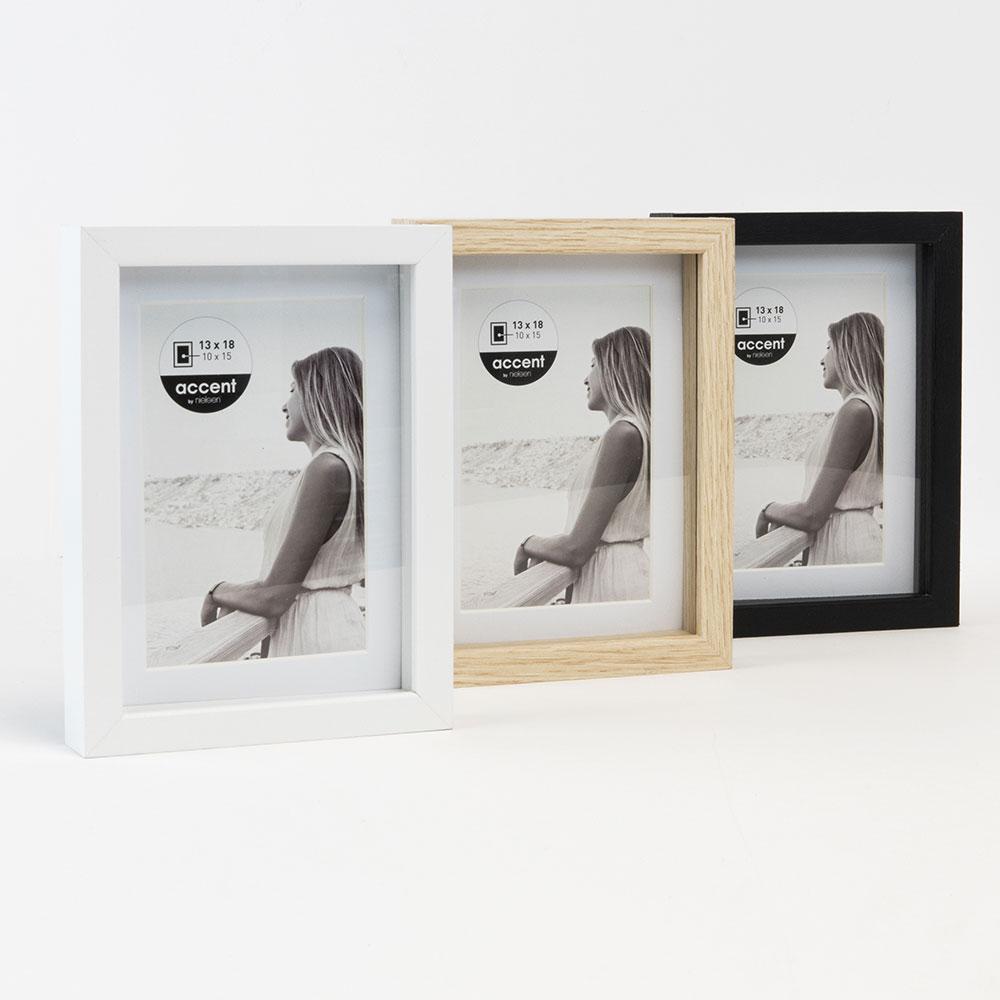 accent cadre en bois aura avec baguette distance set. Black Bedroom Furniture Sets. Home Design Ideas