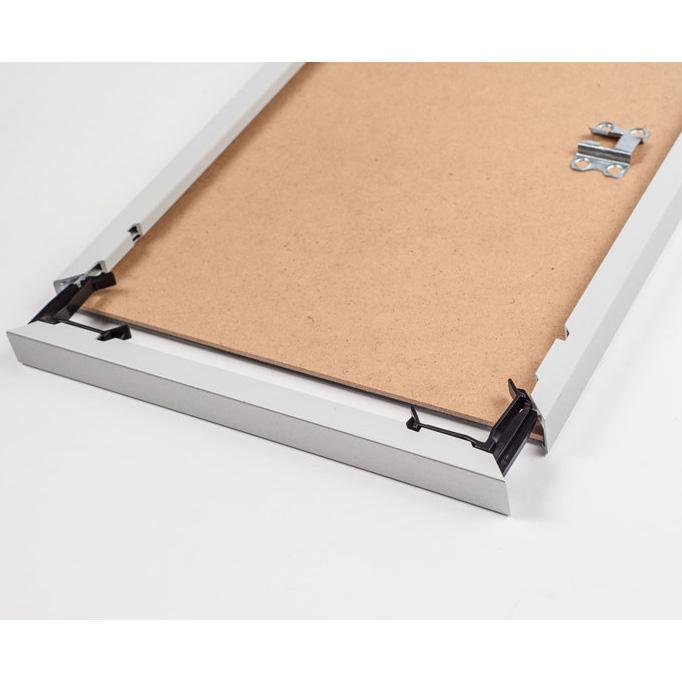 mira cadre en plastique art alu like 50x60 cm argentin mat verre normal. Black Bedroom Furniture Sets. Home Design Ideas