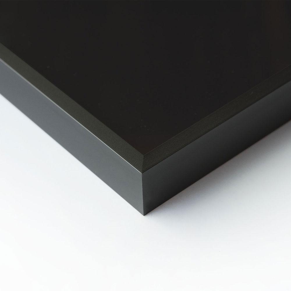 Au cadre en aluminium c2 Eloxal noir brillant 70x90 cm