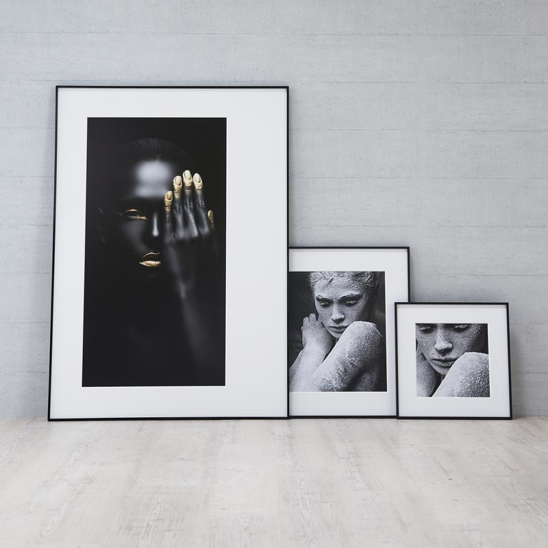 nielsen cadre en aluminium alpha aimants 21x29 7 cm a4. Black Bedroom Furniture Sets. Home Design Ideas